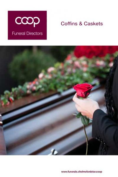 Coffins and Caskets available from Coop Funeral Directors 2021