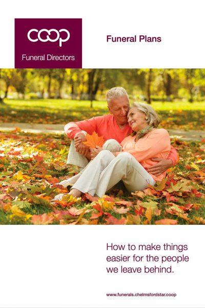 Coop Funeral Directors Funeral Plans Brochure